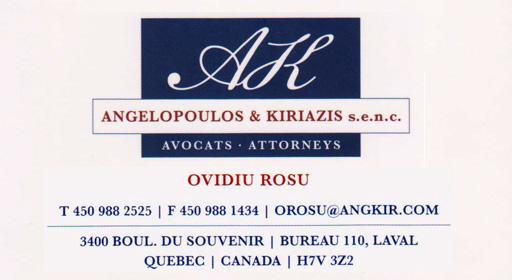 AK Attorneys - Ovidiu Rosu