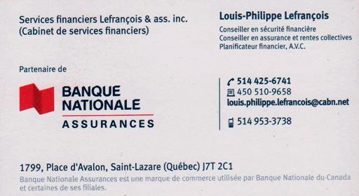Banque Nationale - Louis-Phillipe Lefrançois