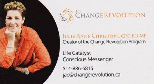 Change Revolution - Julie Anne Christoph
