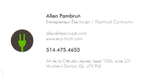 Eco-Triciti - Allen Pambrun