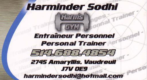 Harm's Gym - Harminder Sodhi