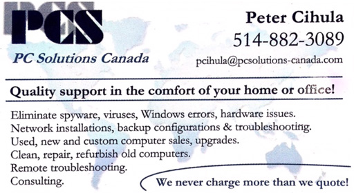 PC Solutions Canada - Peter Cihula