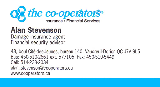 The Co-operators - Alan Stevenson