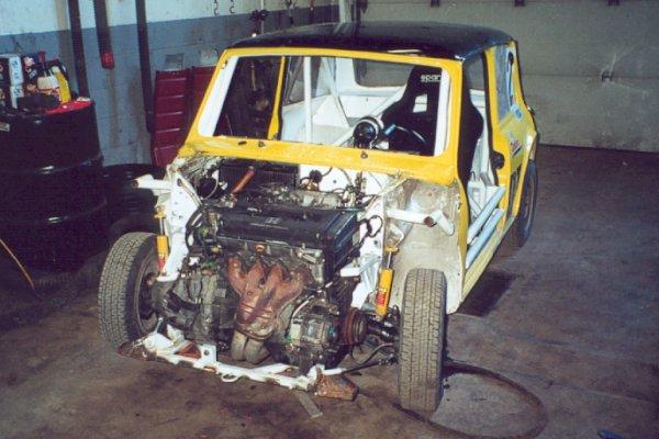 Austin mini racing